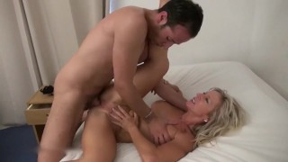 Hot Mature Masturbates and Then Goes To Fuck