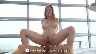 PASSION-HD Big rack ATTACK on hard dick with creampie